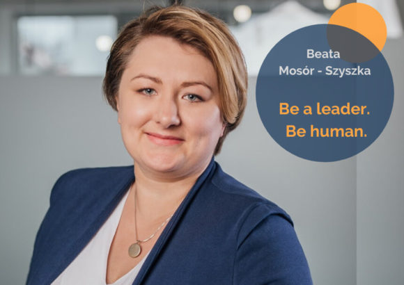 Be a leader. Be human.
